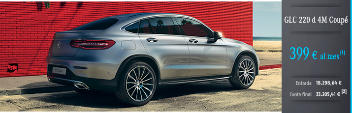 Oferta Mercedes Clase GLC 220d 4M Coupé con Mercedes-Benz Alternative